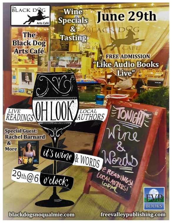Wine and Words Flyer