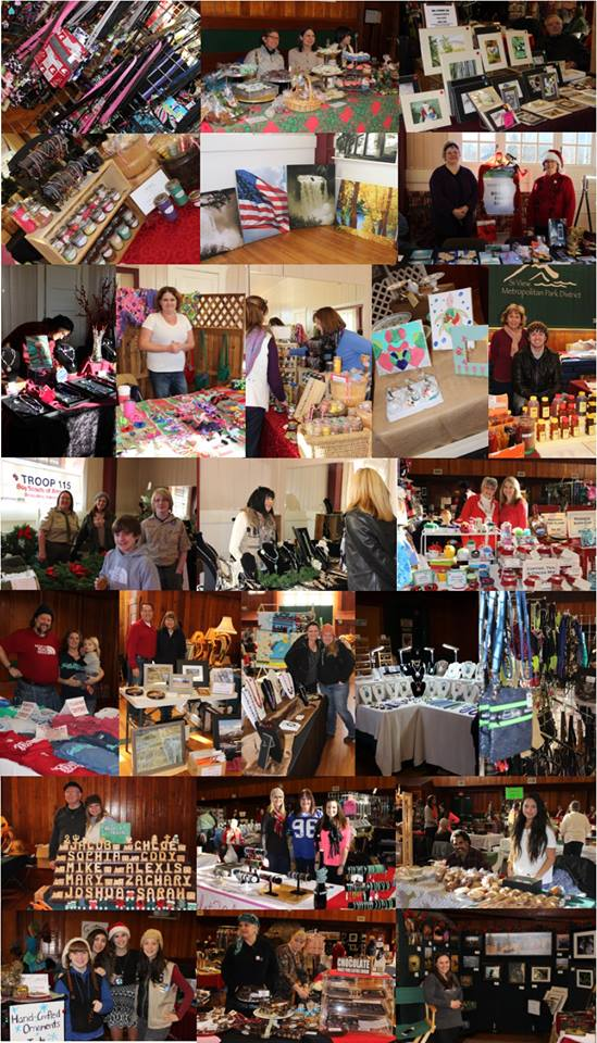 Holiday Bazaar photo collage from Si View's page