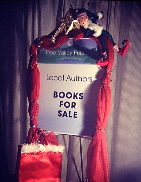 Sign for Holiday Book Sale