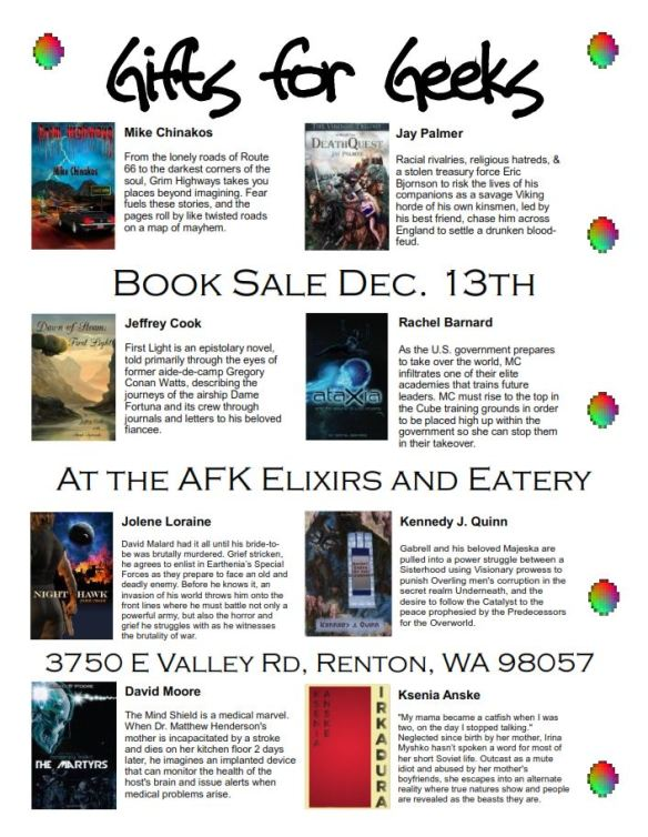 Gifts for Geeks Sale flyer