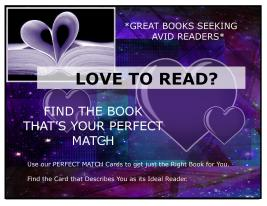 FVP Love to Read- Perfect Match Sign