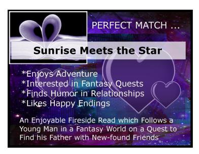 Sheri Vicky Rachel Jeff Reader NW con Perf Match signs1