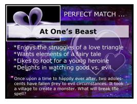 Sheri Vicky Rachel Jeff Reader NW con Perf Match signs3