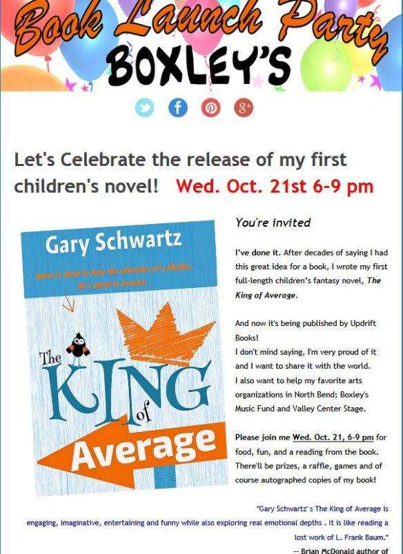 Gary's Launch Party