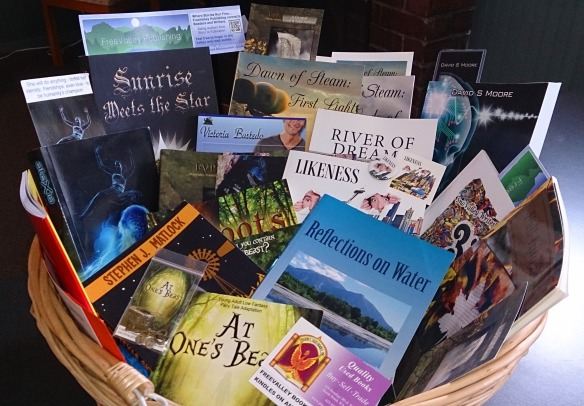 FVP Donation Book Basket
