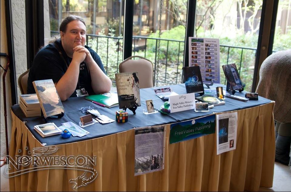 Jeffrey Cook at FVP Table Norwescon 2014 - From 40th Anniversary Photo Collection