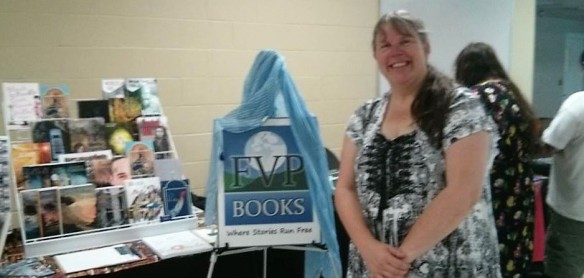FVP Victoria Bastedo at Readerfest