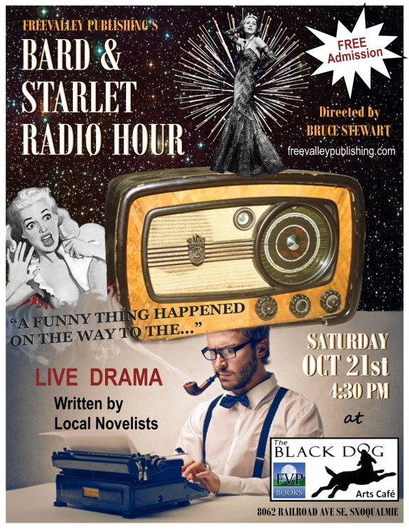 Bard & Starlet Radio Hour Flyer 2017 Funny Thing - Final