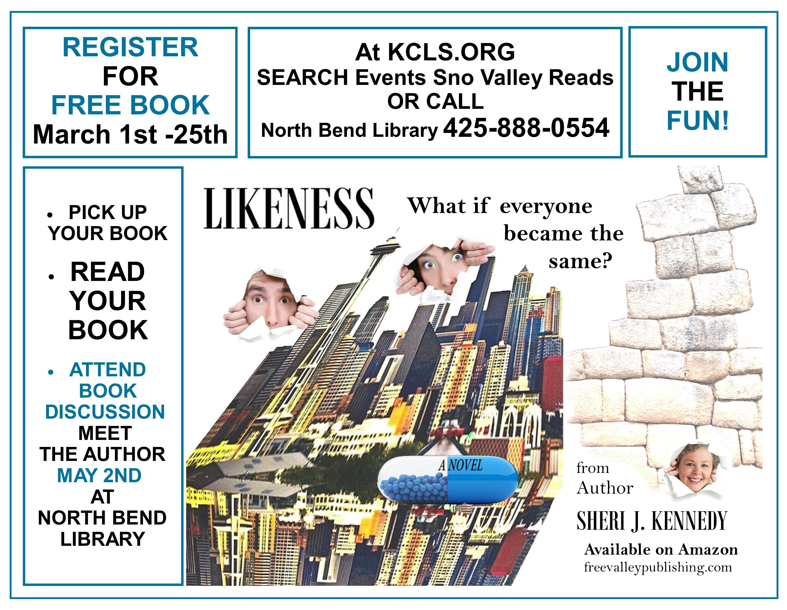 Likeness KCLS Valley Reads Register