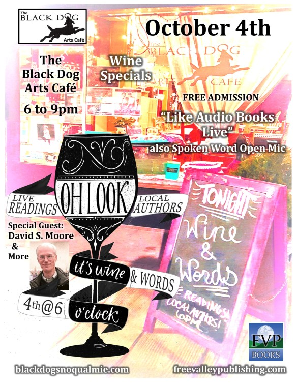 Wine and Words Flyer oct 18