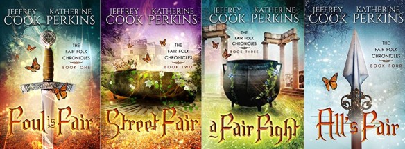 Fair Folk Chronicles covers