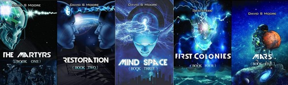 Mind Space Series Covers