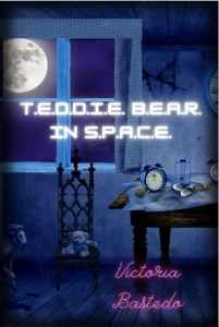 TEDDIE BEAR IN SPACE COVER